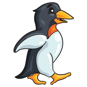 Милый пингвин мультфильм