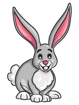 ウサギの漫画のスタイル