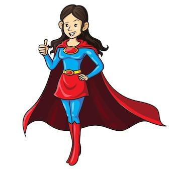スーパーママ漫画