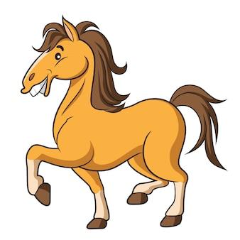Мультфильм лошадь