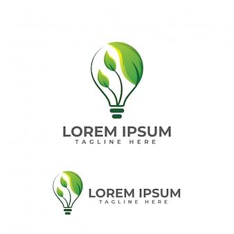 Вектор иллюстрации логоса листьев шарика