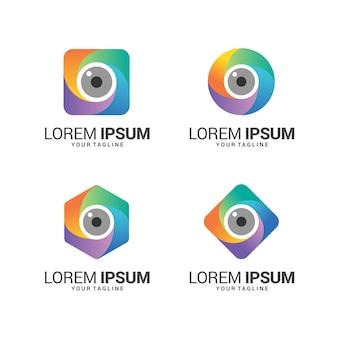 Удивительная коллекция логотипов объектива камеры