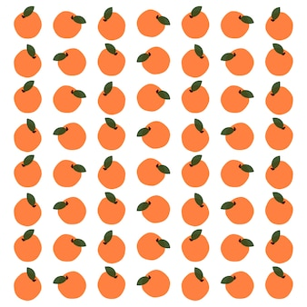 Оранжевый фрукт бесшовный фон