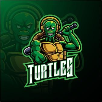 Черепаха логотип