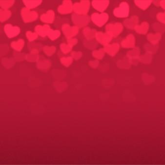 ぼやけているバレンタインデーの背景