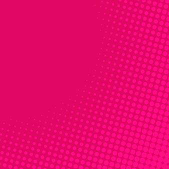 ピンクグラデーションハーフトーンの背景