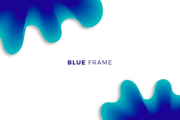 青の抽象的な背景