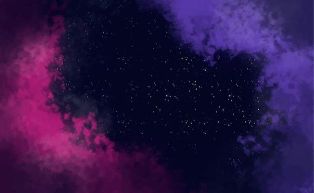 銀河の抽象的な背景