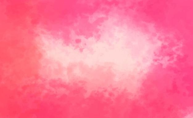 Розовый акварельный фон