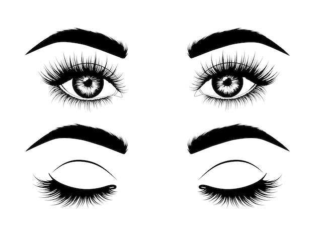 開いた目と閉じた目