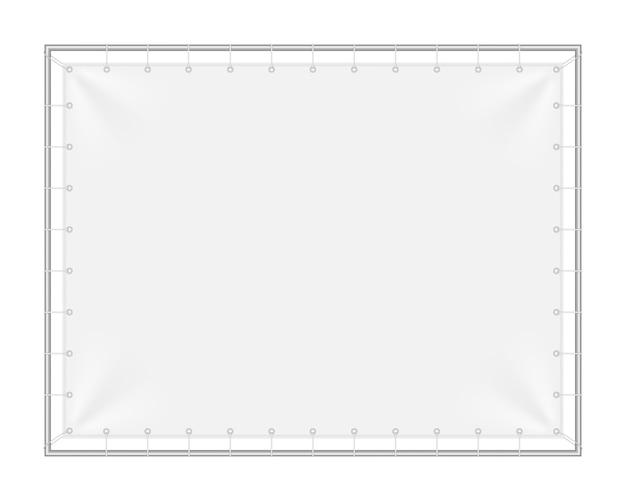鉄のフレームと長方形の背景。
