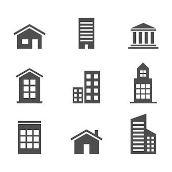家の家の抽象的なビジネスインフォグラフィックテンプレート