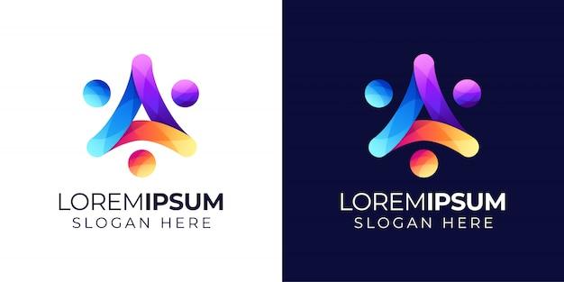 Люди с буквой а логотип