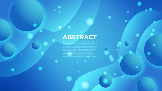 青のグラデーションシェード抽象的な背景