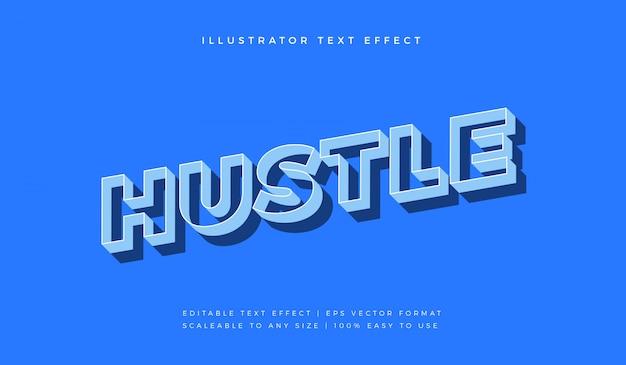 Синий комический мотивационный текстовый стиль шрифта