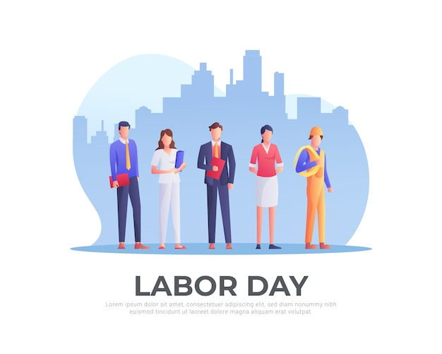 Рабочие на день труда