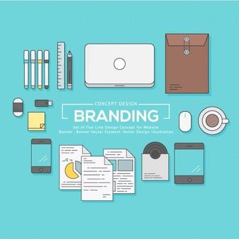 Дизайн деловые элементы