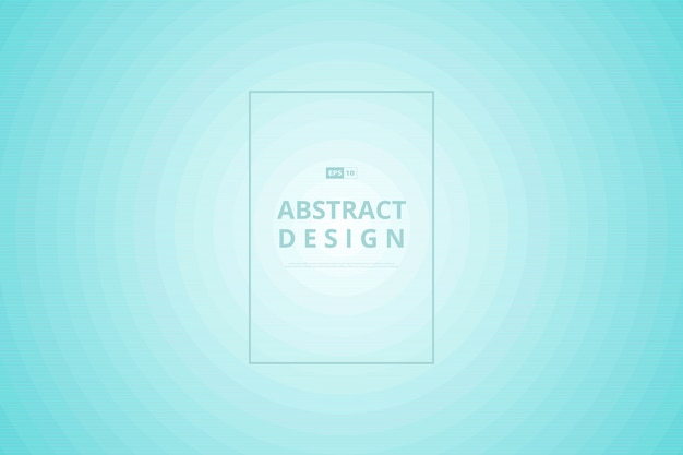 パターンサークル装飾背景の抽象的なグラデーションブルーミントサークル。