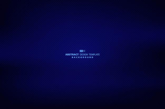 技術デザインストライプラインパターンアートワーク背景の抽象的なグラデーションブルー。