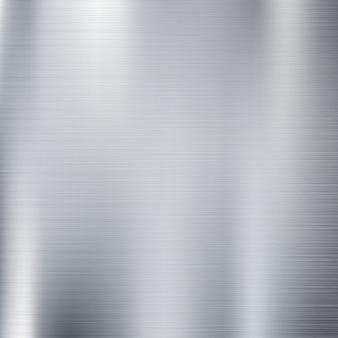 グランジラインパターンの装飾的な背景を持つ抽象的な固体銀チタン板材。