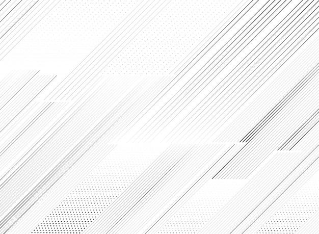 装飾背景の抽象的なトレンディな黒線パターン。