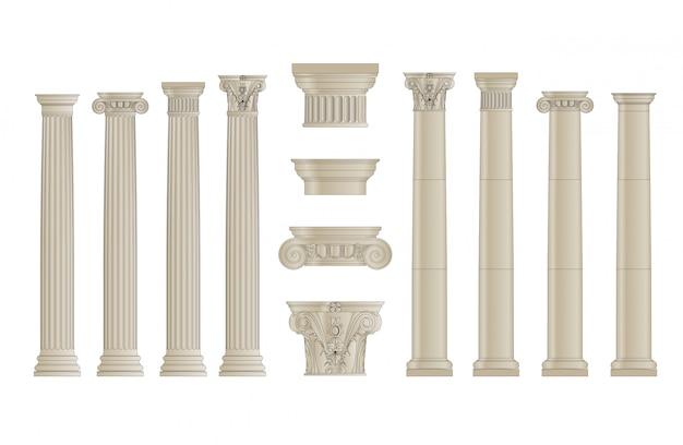 Набор колонн