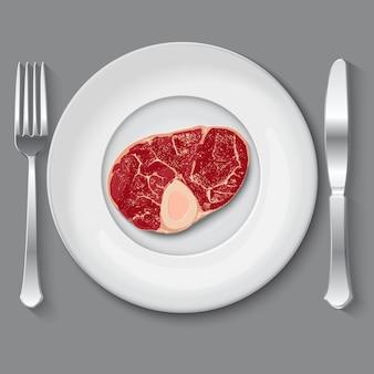 Свежее векторное мясо