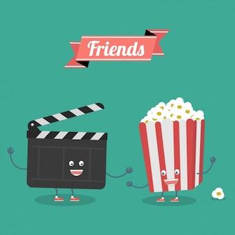 友情の背景デザイン