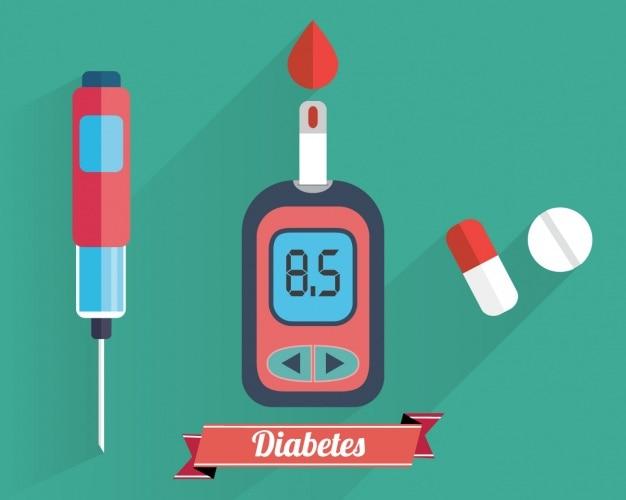 Коллекция элементов диабет