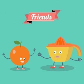 Дизайн фона дружба