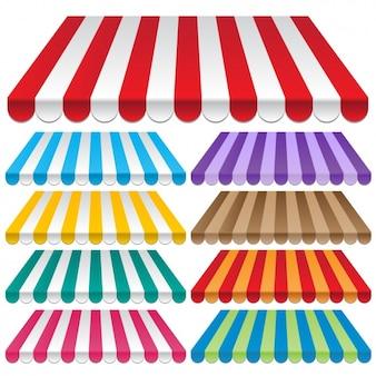 Цветные маркизы