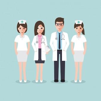 Медицинская команда дизайнеров