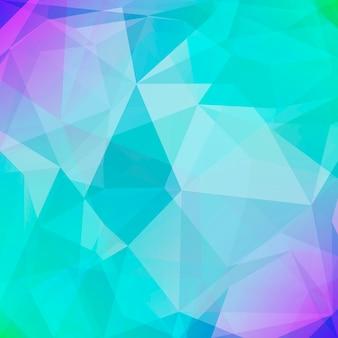 抽象的な正方形の三角形の背景。