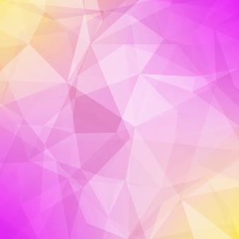 抽象的なグラデーション三角形の背景