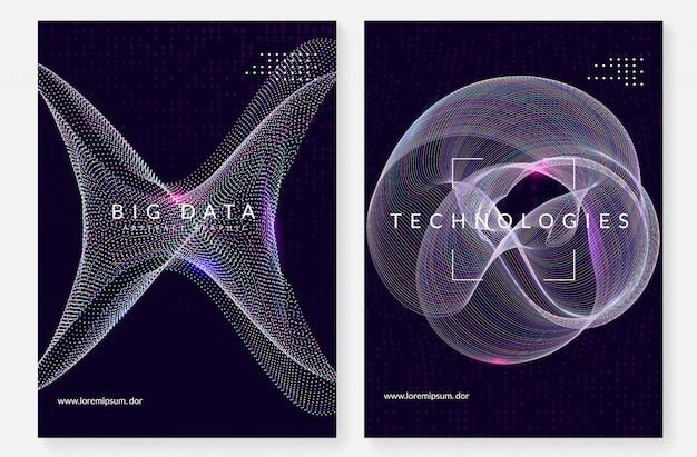 Цифровые технологии абстрактный фон. искусственный интеллект,