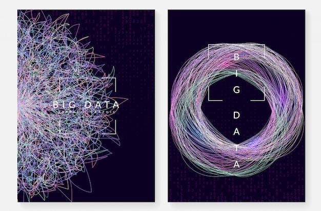 デジタル技術の抽象的な背景。