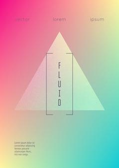 Голографическая жидкость с треугольниками