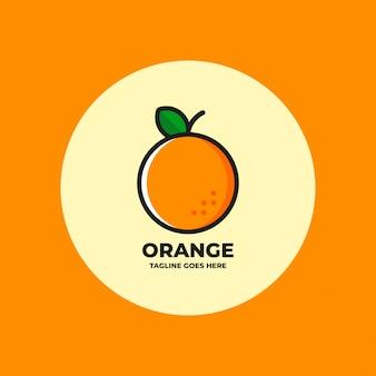 Оранжевый логотип