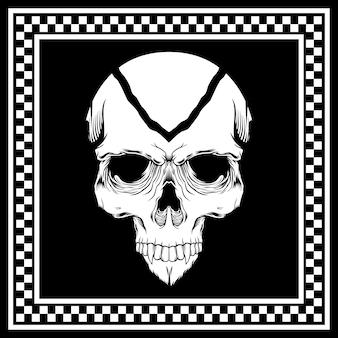 Баннер с черепом
