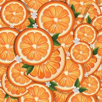 Оранжевый бесшовный дизайн