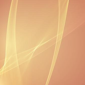 抽象的なオレンジ色の炎メッシュバックグラウンド。未来的な技術スタイル