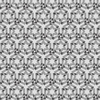 抽象的な点線の幾何学模様の背景。