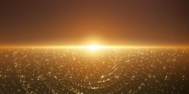 Фон бесконечного пространства.