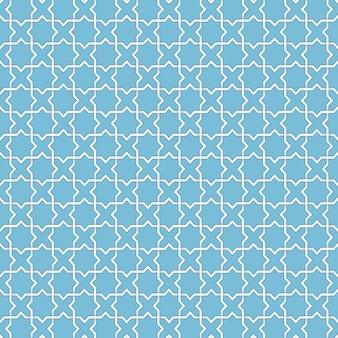 ベクトル抽象的なイスラムの背景。民族のイスラム教徒の装飾品に基づいています。絡み合った紙の縞。カード、招待状などのためのエレガントな背景