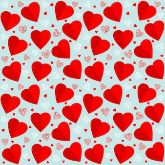 ベクトルシームレスパターンの背景。バレンタイン・デー。あなたの優しいデザインのためのエレガントなパターン。
