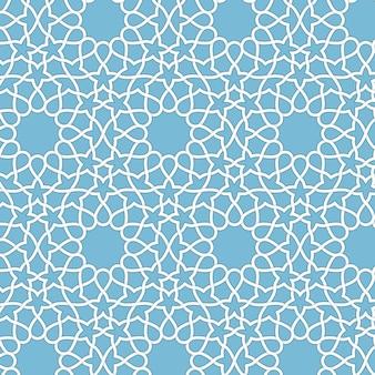 抽象的な幾何学的イスラムの背景