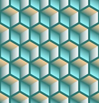 Бесшовный абстрактный геометрический фон
