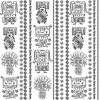 部族要素によるベクトルパターンの設計