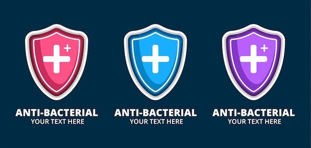 ロゴ健康抗細菌