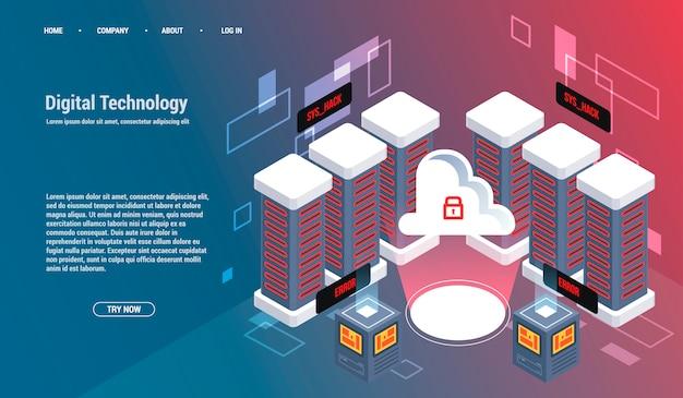 Вычисление большого центра обработки данных, обработка информации, базы данных. маршрутизация интернет-трафика.